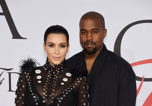 Kanye West & Kim Kardashian Squash Divorce Rumors in the New Year
