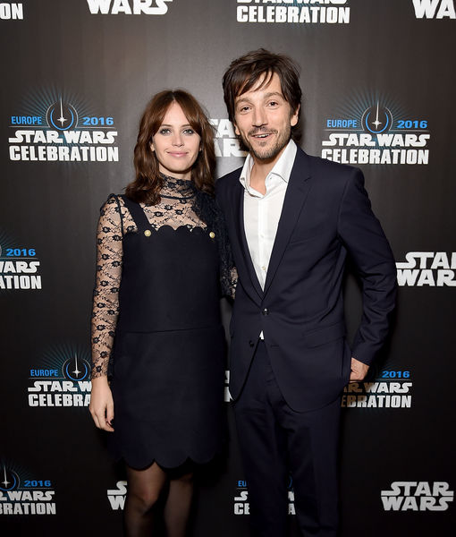 Felicity Jones & Diego Luna Weigh In on Stardom