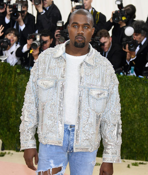 'Extra' Scoop: Kanye West Bans Credentialed Press Before Yeezy Fashion Show