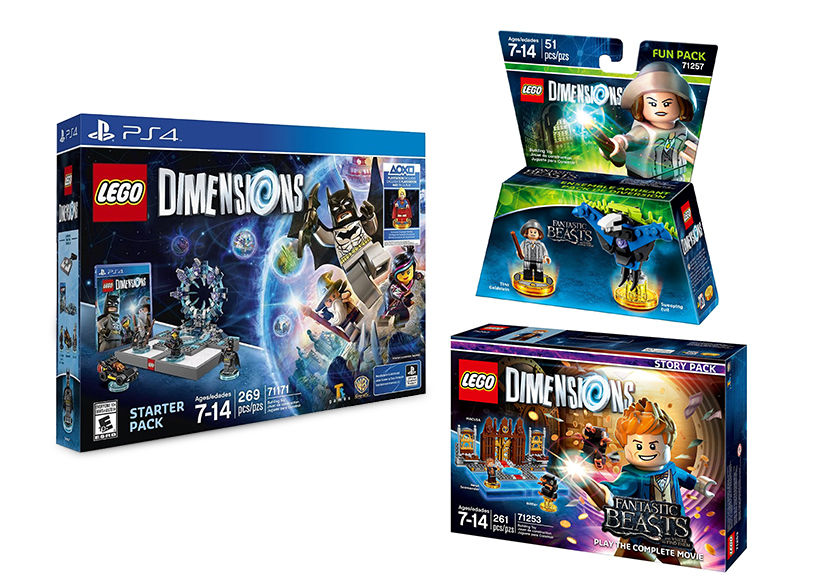 Win It! A Lego Dimensions Starter Pack & 'Fantastic Beasts' Expansion Packs