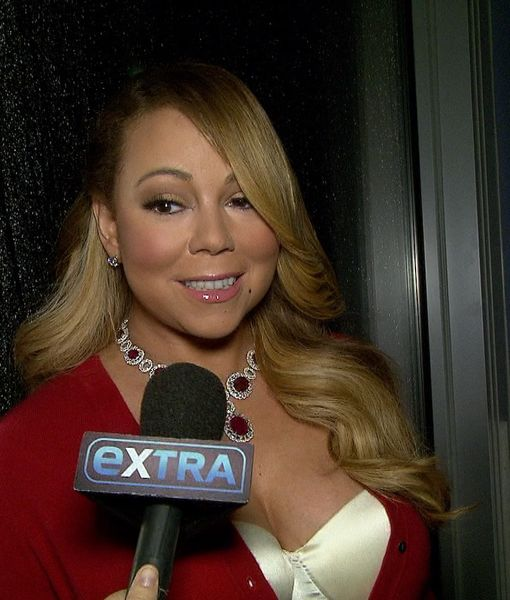 Who Is Mariah Kissing Under the Mistletoe on Christmas?