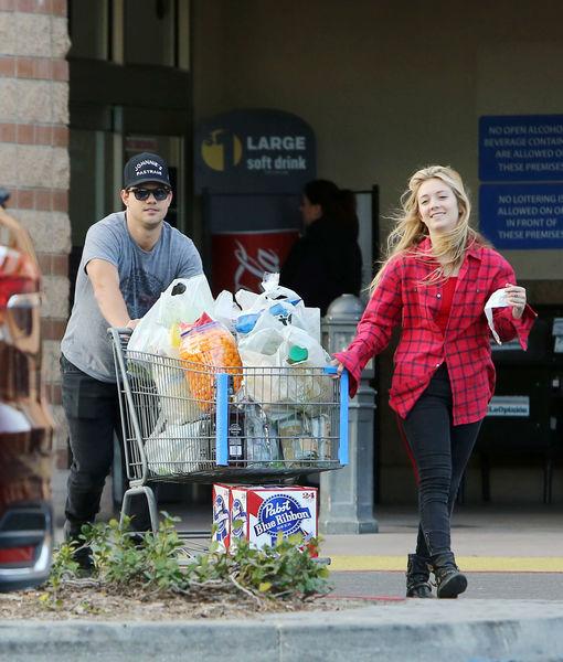 First Pics! Taylor Lautner & Billie Lourd Take Rumored Relationship Public