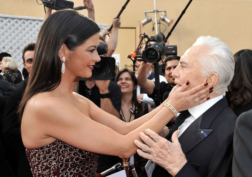 Kirk Douglas Turns 100 with Glitzy Luncheon and Sweet Insta Vid from Catherine…