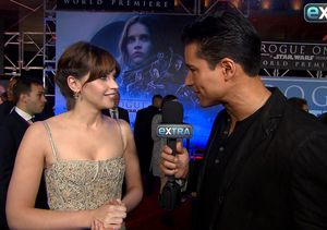 Felicity Jones Reveals Her Initial Reaction to Darth Vader