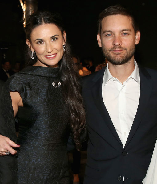 Is Demi Moore Rekindling a Romance with Tobey Maguire?