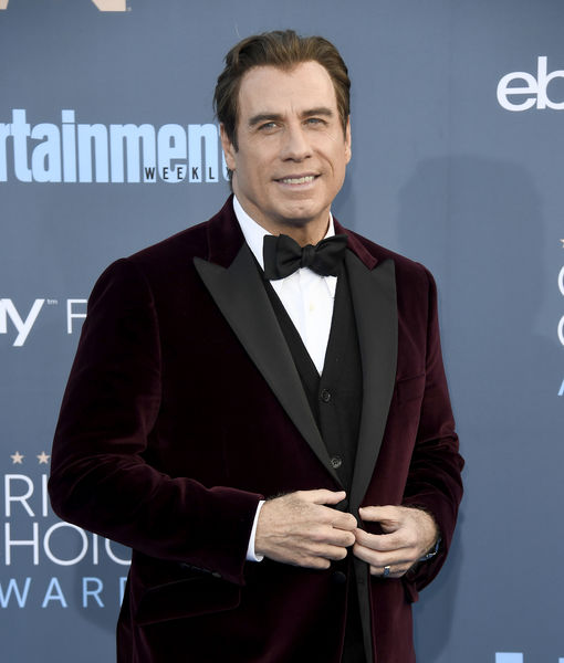 John Travolta Dishes on His Holiday Plans