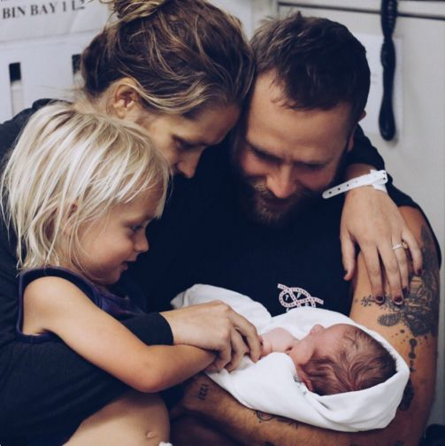 Teresa Palmer & Mark Webber Welcome Son Forest Sage
