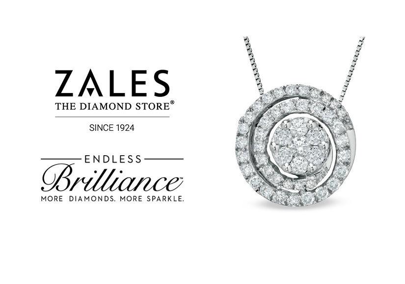 Win It! A Zales Diamond Pendant