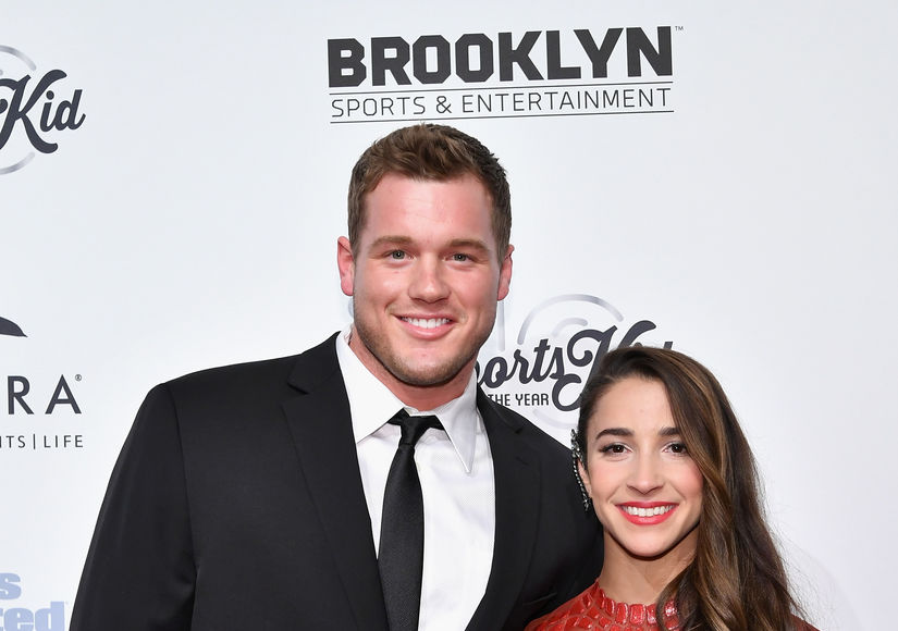 Aly Raisman & Colton Underwood Split