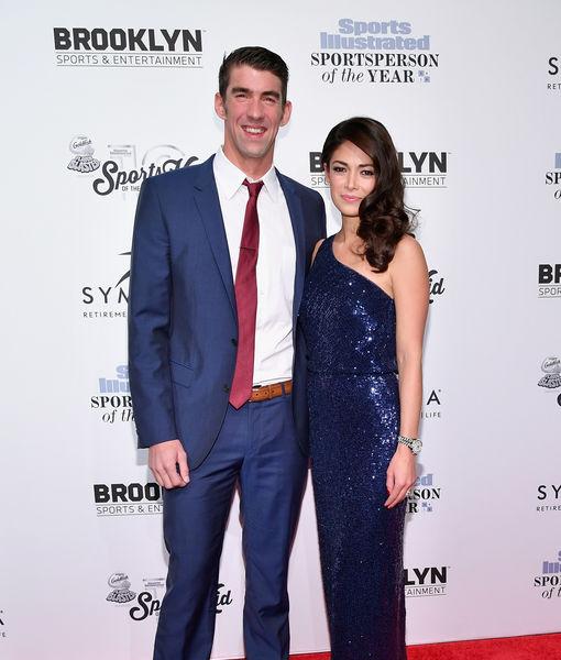 Michael Phelps & Wife Nicole Expecting Baby #2