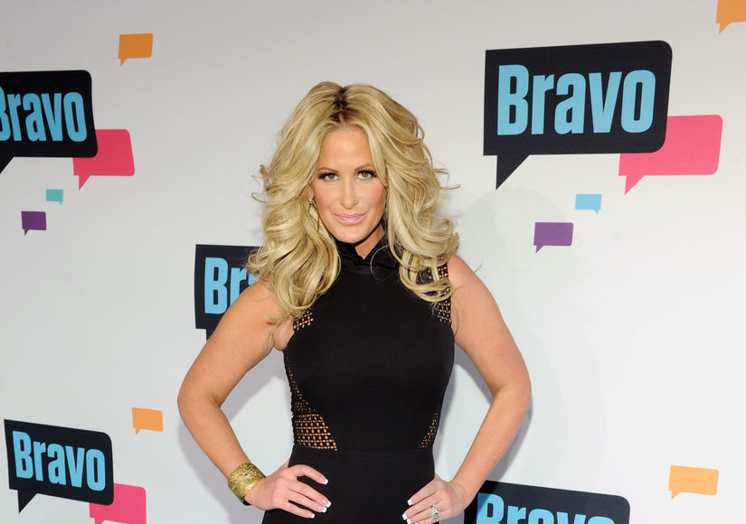 Kim Zolciak Denies Plastic Surgery to Andy Cohen on 'Watch What Happens Live'