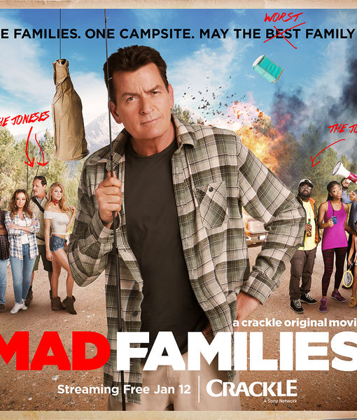 Sneak Peek: Charlie Sheen's New Crackle Film 'Mad Families'