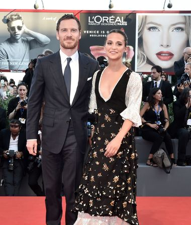 Alicia Vikander & Michael Fassbender Married in Secret Wedding