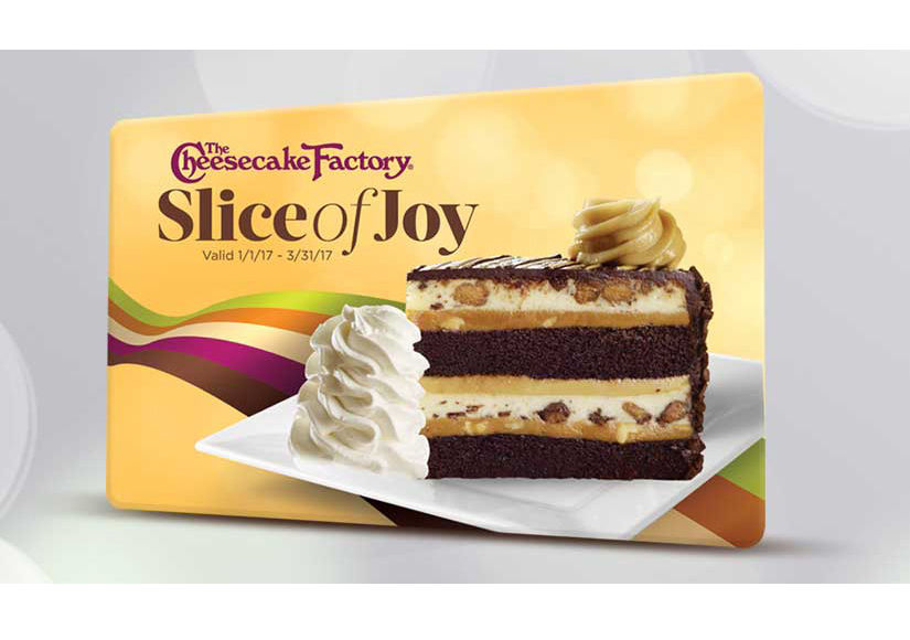 Win It! A $50 Cheesecake Factory Gift Card
