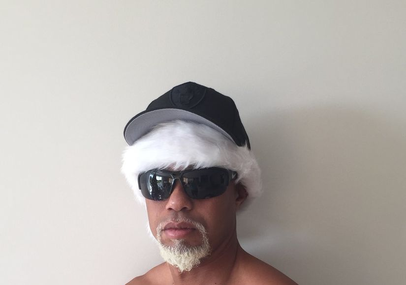 Tiger Woods Goes Shirtless as 'Mac Daddy Santa'