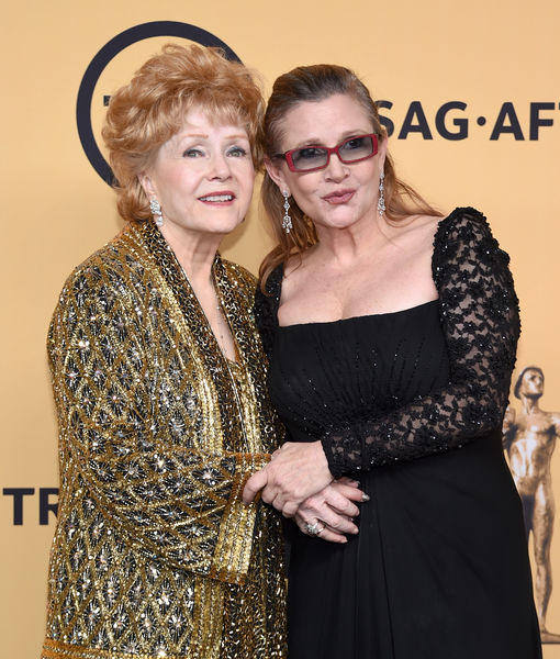 Debbie Reynolds Gives Health Update on Carrie Fisher