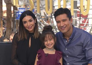 Mario Lopez's Daughter Gia Grills Dad on Bathroom Habits