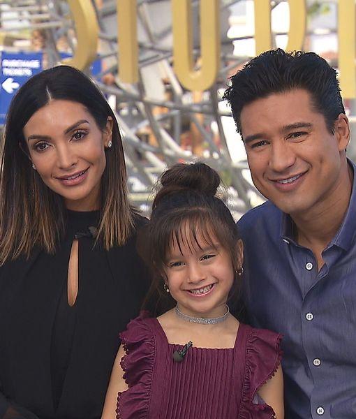 Mario Lopez's Daughter Gia Grills Dad on Bathroom Habits