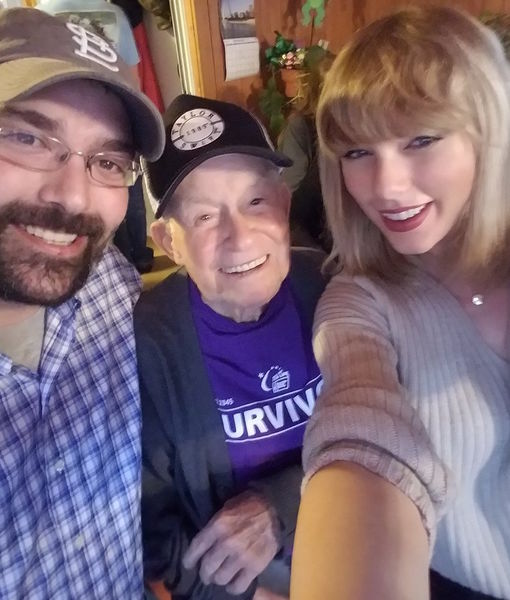 Taylor Swift Surprises 96-Year-Old Fan with Personal Concert