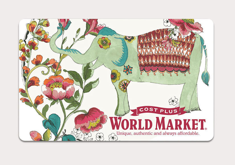 Win It! A $50 Gift Card to Cost Plus World Market
