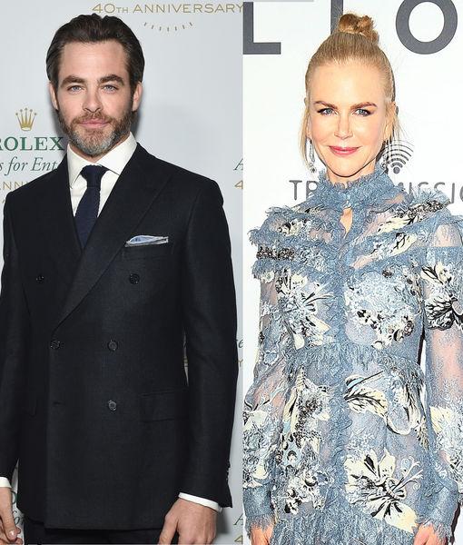 Chris Pine & Nicole Kidman Will Present at the Golden Globe Awards