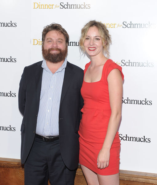 It's Another Boy! Zach Galifianakis' Wife Gives Birth to Second Child