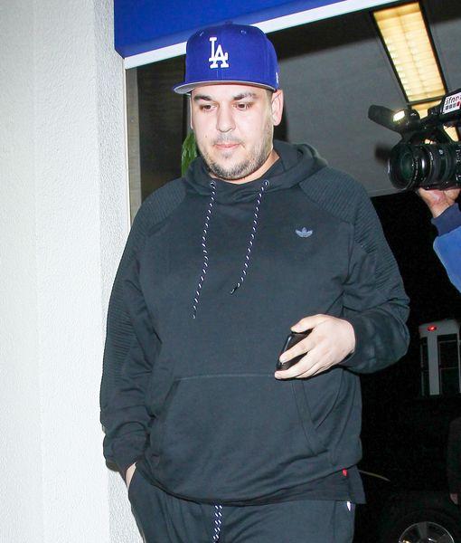 Rob Kardashian Hospitalized