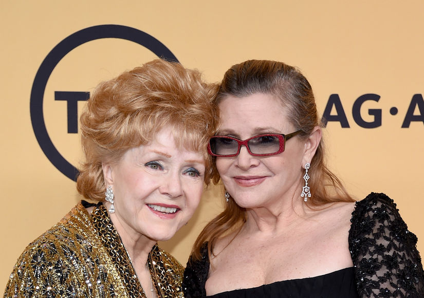 Inside the Emotional, A-List-Packed Good-bye to Carrie Fisher & Debbie Reynolds