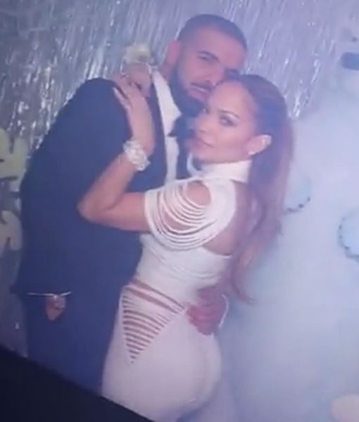Jennifer Lopez & Drake Kiss Amid Romance Rumors