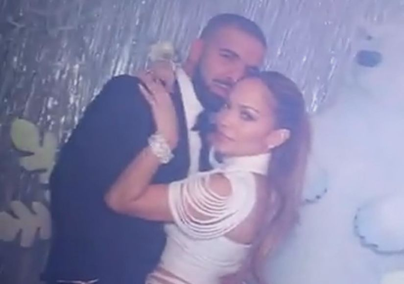 Jennifer Lopez & Drake Kiss Amid Romance Rumors