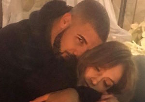 Source Says J.Lo & Drake 'Seem Really Happy'