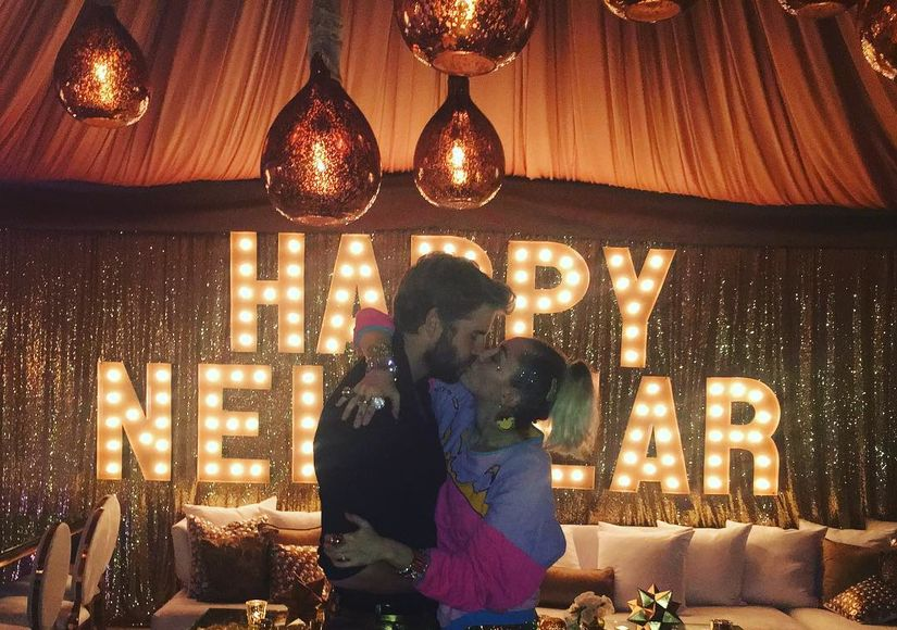 How Stars Celebrated the New Year
