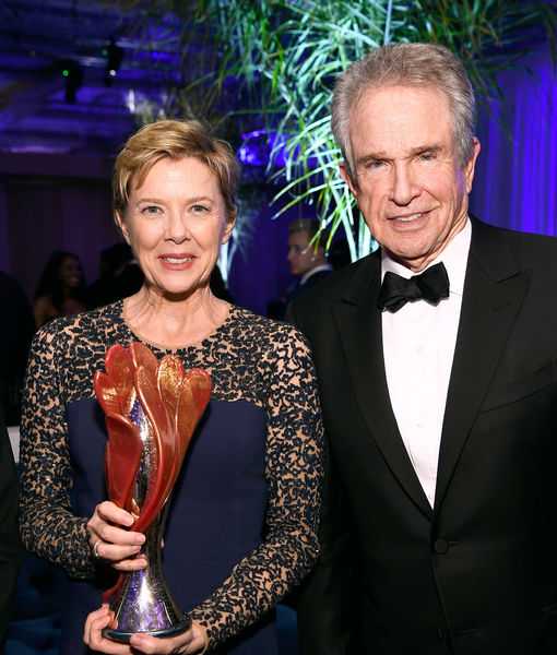 Warren Beatty Remembers Carrie Fisher & Gushes Over Wife Annette Bening