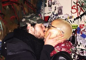 Val Chmerkovskiy & Amber Rose Confirm Relationship with a Kiss