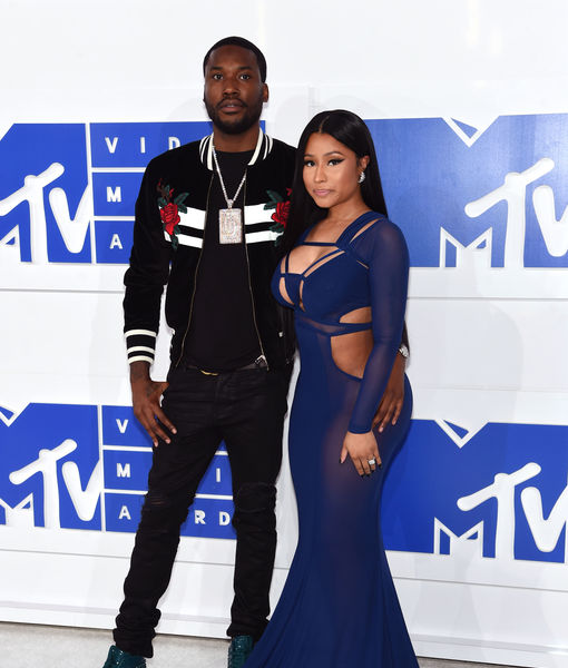 Nicki Minaj & Meek Mill Split