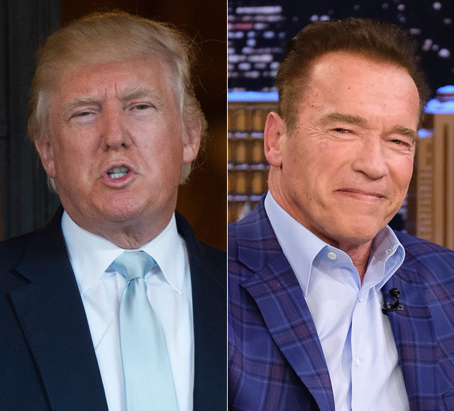 President Trump Disses 'The Celebrity Apprentice' Again — Arnold Schwarzenegger Bites Back!
