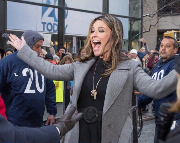 today show universal studios sweepstakes savannah guthrie surprises matt lauer for his 20th 5843