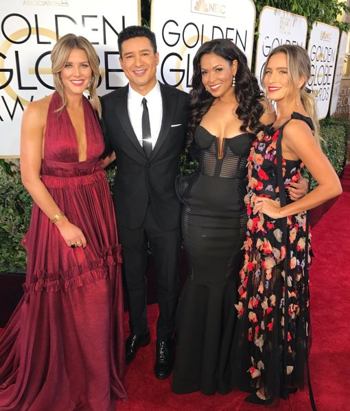 Mario Lopez, Charissa Thompson, Tracey Edmonds & Renee Bargh Heat Up the Golden Globes Red Carpet