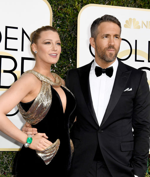 Ryan & Blake at the Globes: Drop-Deadpool Gorgeous!
