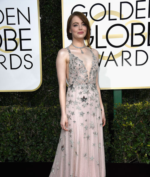 Emma Stone's Starry Couture Night at the Globes