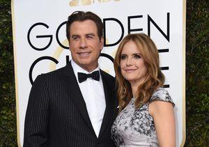 Golden Globes Red Carpet: John Travolta Reflects on Carrie Fisher & Robert…