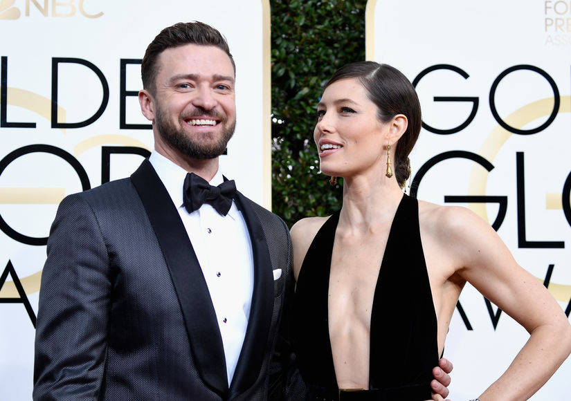 How Justin Timberlake & Jessica Biel's Rare Red-Carpet Interview Turned Into a Love Fest