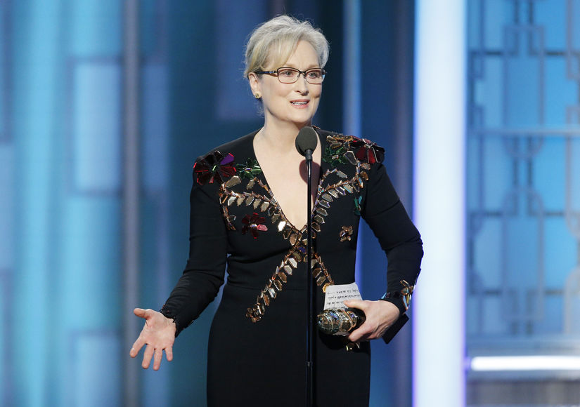 Stars React to Meryl Streep's Golden Globes Speech About President-elect Donald Trump