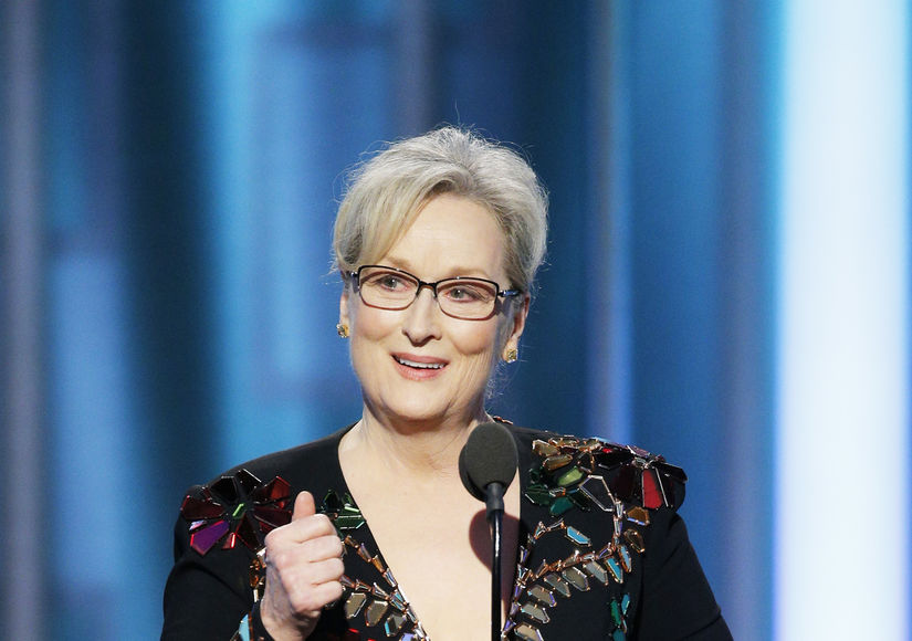 Meryl Streep Bashes Donald Trump in Golden Globes Speech