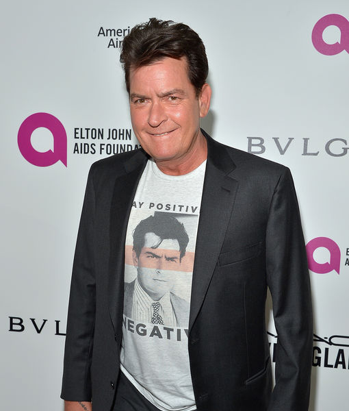Charlie Sheen Speaks on 'Mad Families,' Meryl Streep's Golden Globes Speech & Running for President