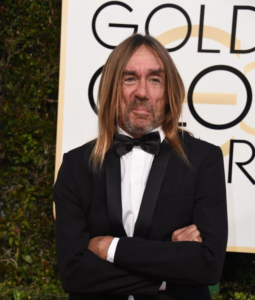 Iggy Pop Goes Gold at Golden Globes