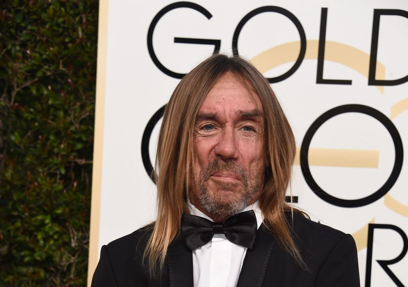 Iggy Pop Goes Gold at Golden Globes