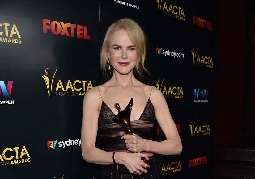 How Nicole Kidman Describes Her Beach Body