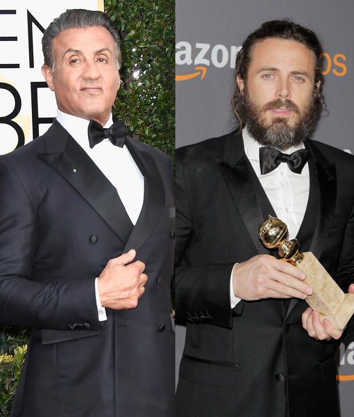 Are Sylvester Stallone & Casey Affleck Feuding After Golden Globes Seat Mixup?