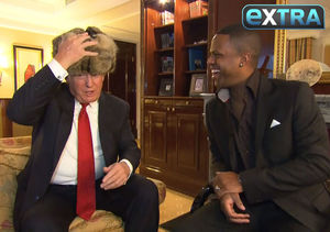 'Extra' Interviews Donald Trump About Miss Universe in Moscow
